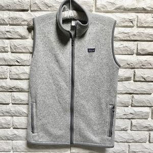 Patagonia Better Sweater Fleece Vest light gray L